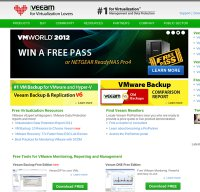 veeam.com screenshot