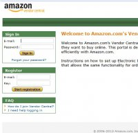 vendorcentral.amazon.com screenshot