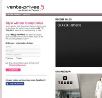 vente-privee.com screenshot