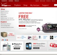 verizonwireless.com screenshot