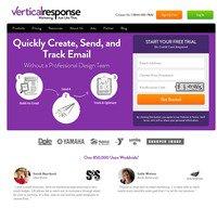 verticalresponse.com screenshot