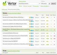 vertor.com screenshot