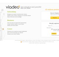 viadeo.com screenshot