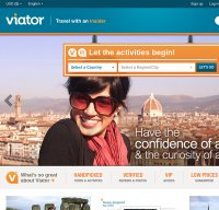viator.com screenshot