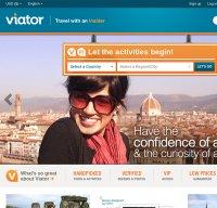viator.com screenshot