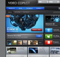 videocopilot.net screenshot