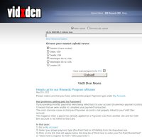 vidxden.com screenshot