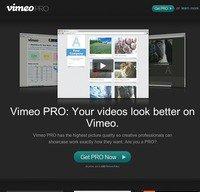 vimeopro.com screenshot