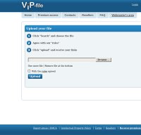 vip-file.com screenshot