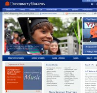 virginia.edu screenshot