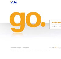 visa.com screenshot