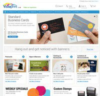 vistaprint.ca screenshot