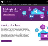visualstudio.com screenshot