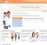 vitals.com screenshot