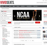 vividseats.com screenshot
