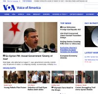 voanews.com screenshot