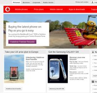 vodafone.co.uk screenshot