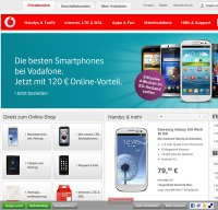 vodafone.de screenshot