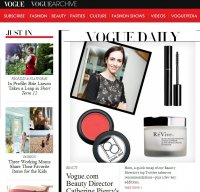 vogue.com screenshot