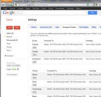 voice.google.com screenshot