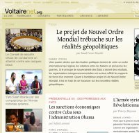 voltairenet.org screenshot