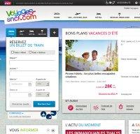 voyages-sncf.com screenshot