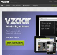 vzaar.com screenshot