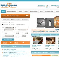 wakanow.com screenshot