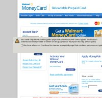 Walmart moneycards