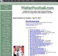 walterfootball.com screenshot