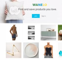 wanelo.com screenshot
