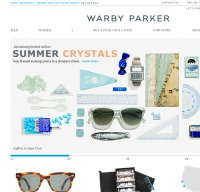 warbyparker.com screenshot