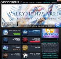 warpportal.com screenshot