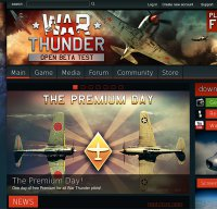 warthunder.com screenshot