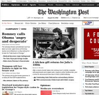 washingtonpost.com screenshot