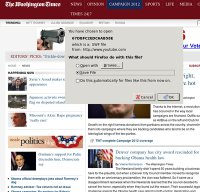 washingtontimes.com screenshot