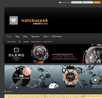 watchuseek.com screenshot