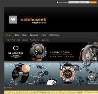 watchuseek.com screenshot