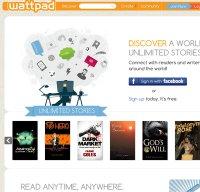 wattpad.com screenshot
