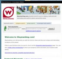 waymarking.com screenshot