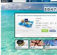 wayn.com screenshot