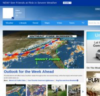 weather.com screenshot