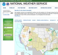 weather.gov screenshot