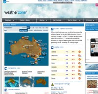 weatherzone.com.au screenshot