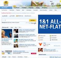 web.de screenshot