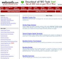 webconfs.com screenshot