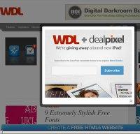 webdesignledger.com screenshot