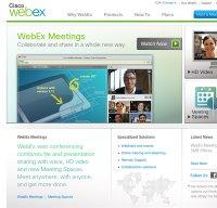 webex.com screenshot