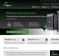 webfusion.co.uk screenshot