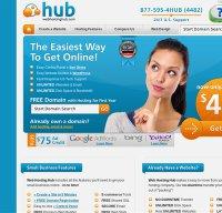 webhostinghub.com screenshot